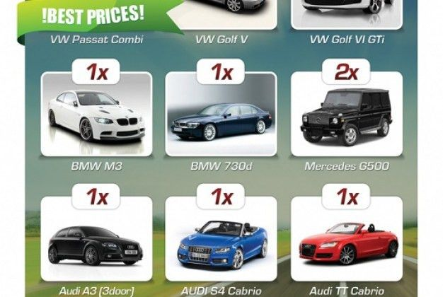 Simple flyer car rental company Vector | Free Download