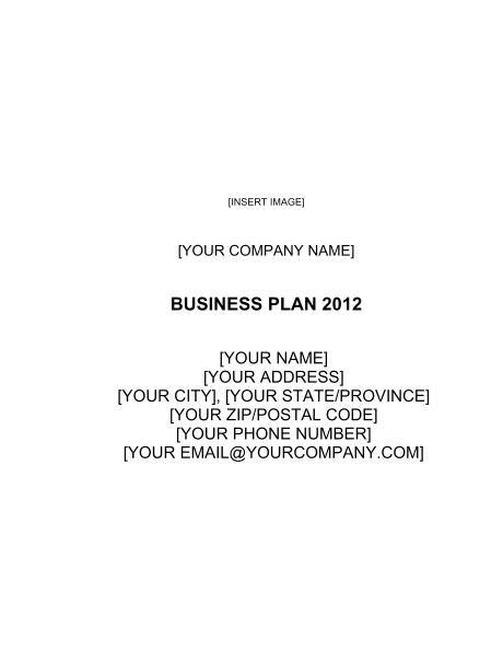 Non-profit Organization Business Plan 3 - Template & Sample Form ...
