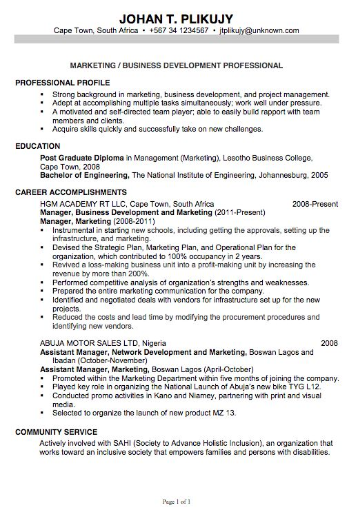 Nobby Design Ideas Writing A Professional Resume 4 Resume How To ...