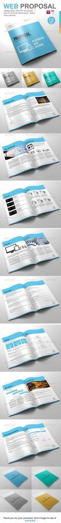 Clean Digital Marketing Proposal | Marketing proposal, Proposal ...