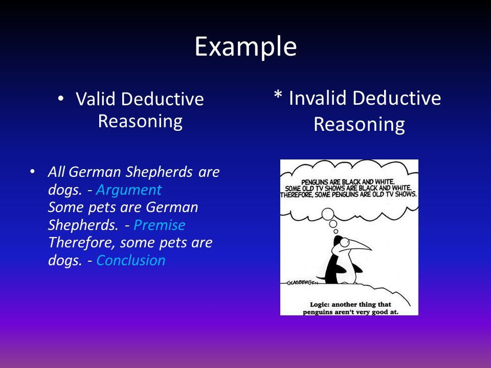 How to Argue Successfully Deductive and Inductive Reasoning. - ppt ...