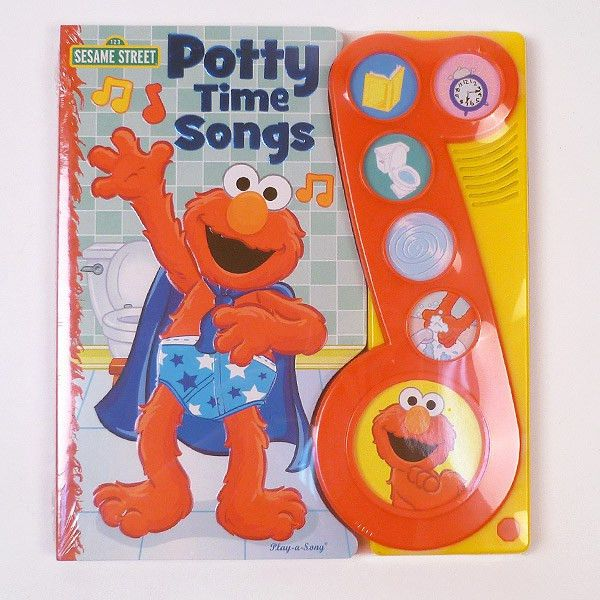 Elmo's Potty Time Songs Book | Potty Training Concepts