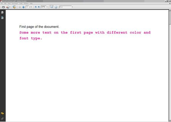 Generate PDF files from Java applications dynamically