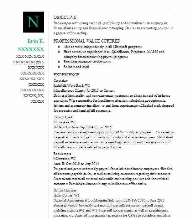 neil best accounts receivable clerk resume example livecareer free