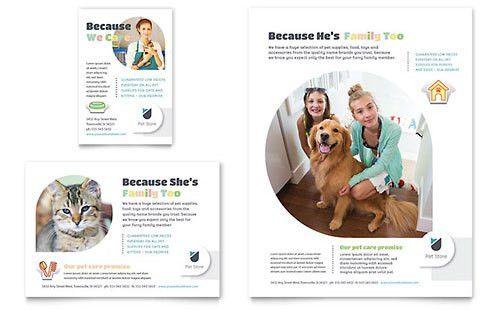 Pets & Animals Print Ads   Templates & Designs