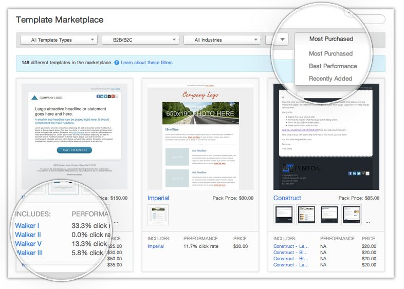 More Options for Email & Landing Page Templates in HubSpot