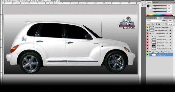 Vehicle Templates for Wraps | Sign & Digital Graphics