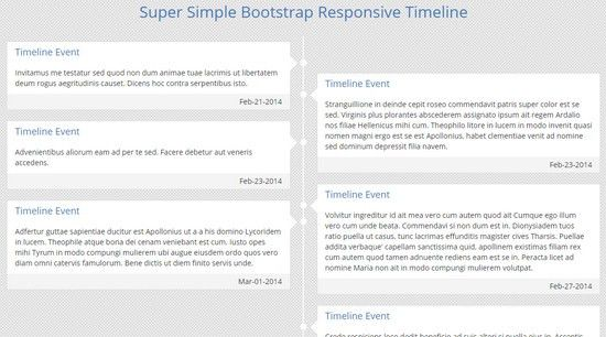 15 Code Snippets for Timelines | NOUPE