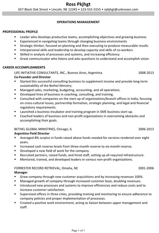 non profit fundraiser business development resume samples. non ...