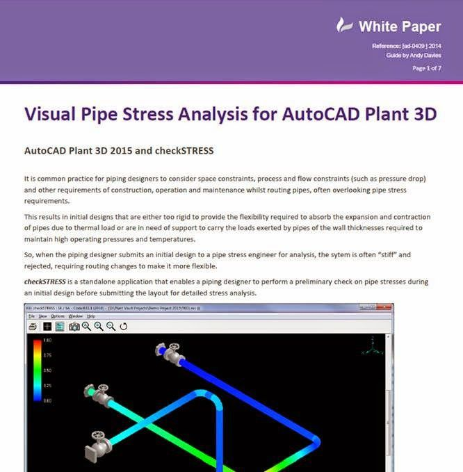 checkSTRESS - Visual Pipe Stress Analysis for Plant 3D – Cadline ...