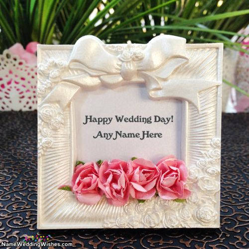Free Wedding Card Messages With Name - Top Greetings