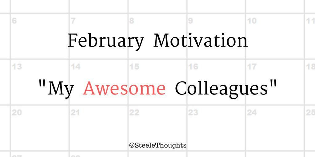 """Danny Steele on Twitter: """"NEW POST -- February Motivation: """"My ..."""