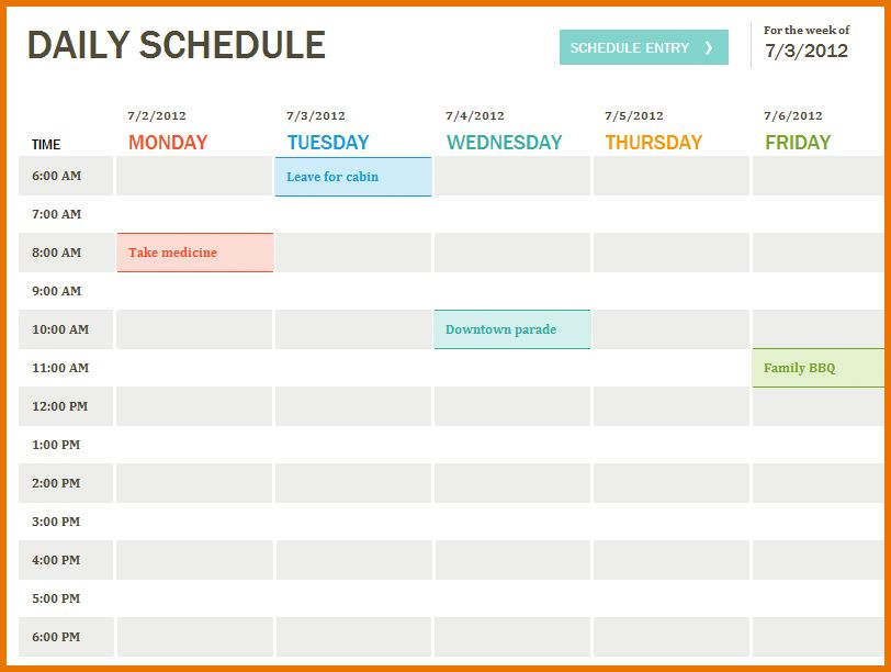 Daily Planner Templates.Daily Planner Template.png | Scope Of Work ...