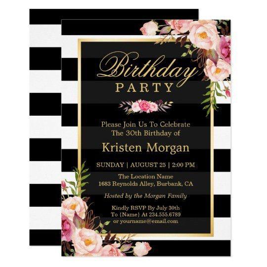 Birthday Invitations & Birthday Party Invites | Zazzle