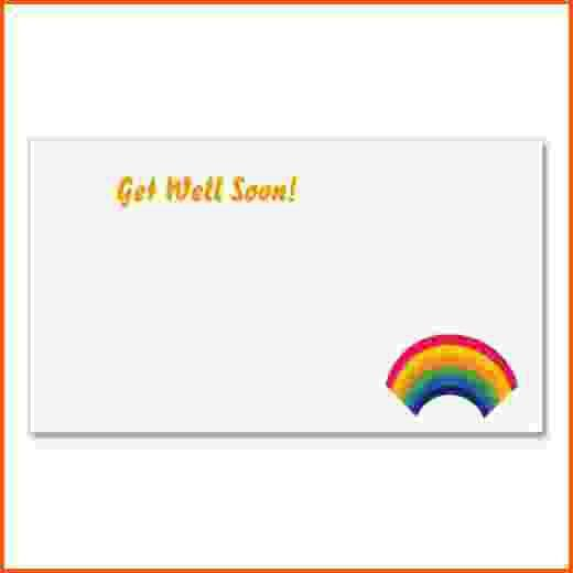 5+ get well card template | Survey Template Words