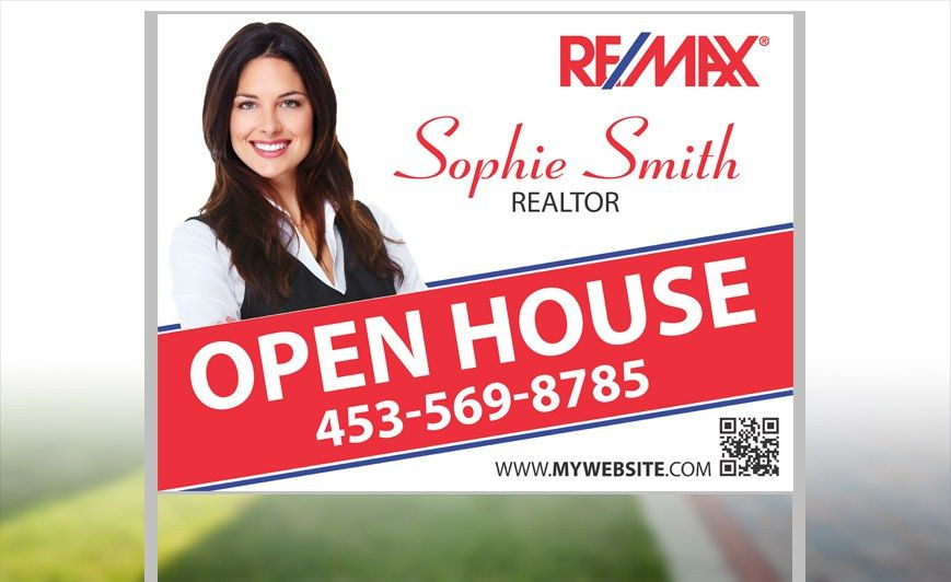 Remax Yard Signs | Custom Remax Yard Signs - Remax For Sale Signs