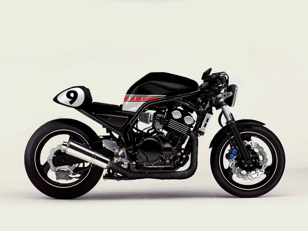 1000 Images About Yamaha Fazer Caf 233 Racer On Pinterest