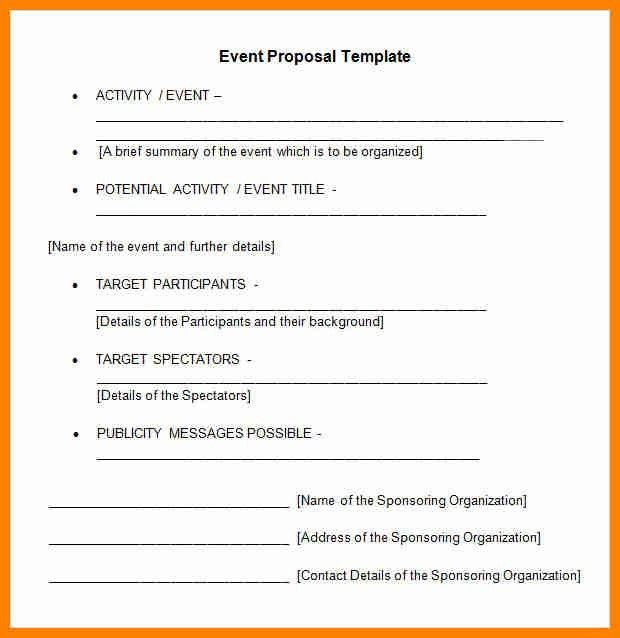 4+ event proposal letter template | buyer resume