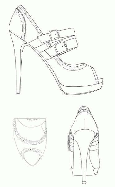 Printable Fashion Figure Templates - The Fashion Designer Shop