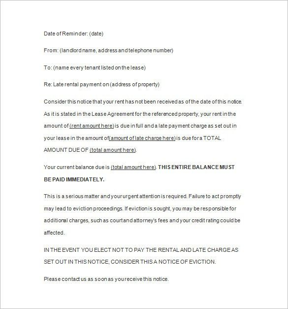 Notice Template - 110+ Free Word, PDF Format Download | Free ...