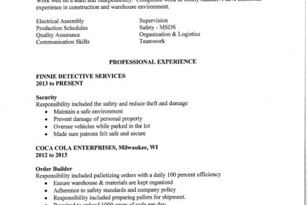 sample resume 12 doc. choose excellent resume sample perfect ...