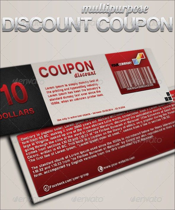 5+ Coupon Templates - Word Excel PDF Templates