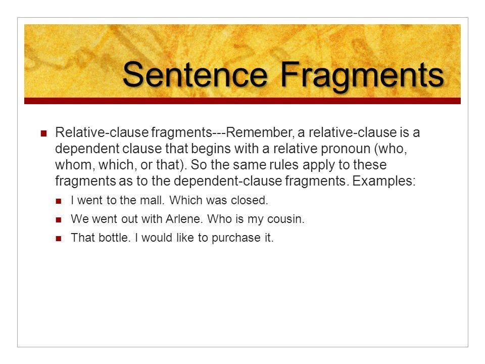 Phrases and Clauses and Sentences…Oh My! - ppt video online download