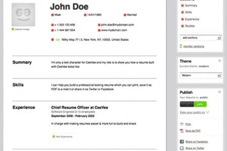 Make Your Resume Online Free - Best Resume Example