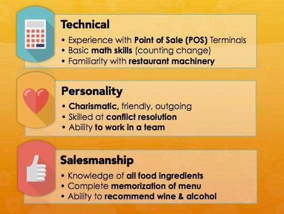 Good Resume Examples For Waitress. waiter resume banquet waiter ...