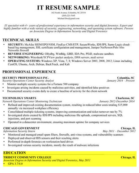 Download Writing A Professional Resume | haadyaooverbayresort.com