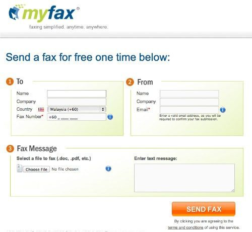 5 Best Websites To Send Fax For Free - Hongkiat