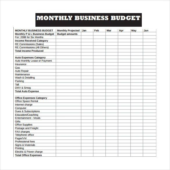 Personal Monthly Living Expense Report And Sheet Template : vlashed