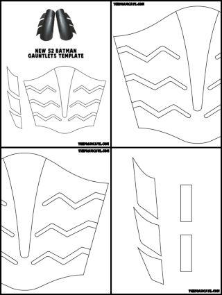New 52 Batman Gauntlets Build Tutorial – The Foam Cave | tutos ...