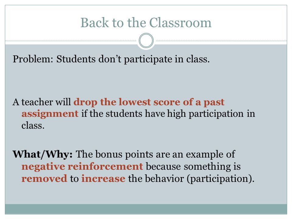 Reinforcement, Punishment, Avoidance Learning, and Escape Learning ...