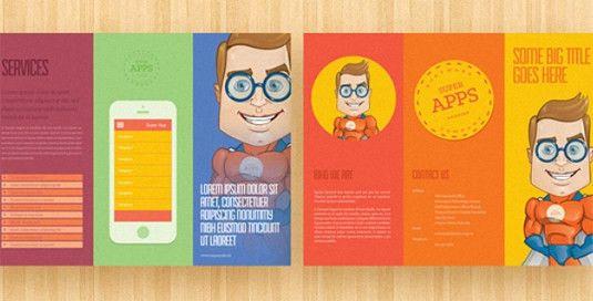 free tri fold brochure templates | Professional Templates