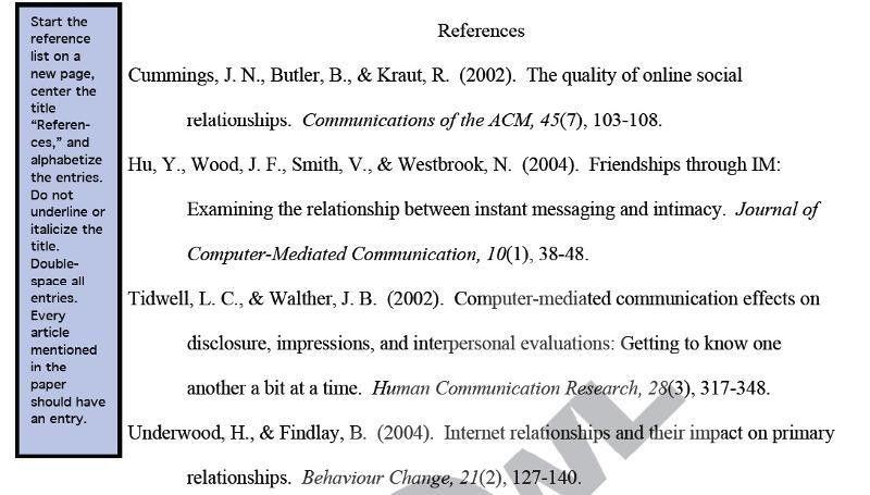 Full Citations: