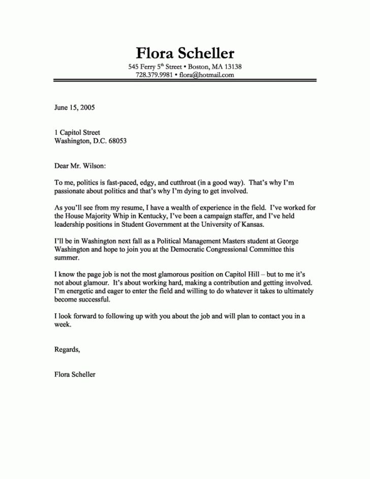 student summer job cover letter sample. cover letter example for ...