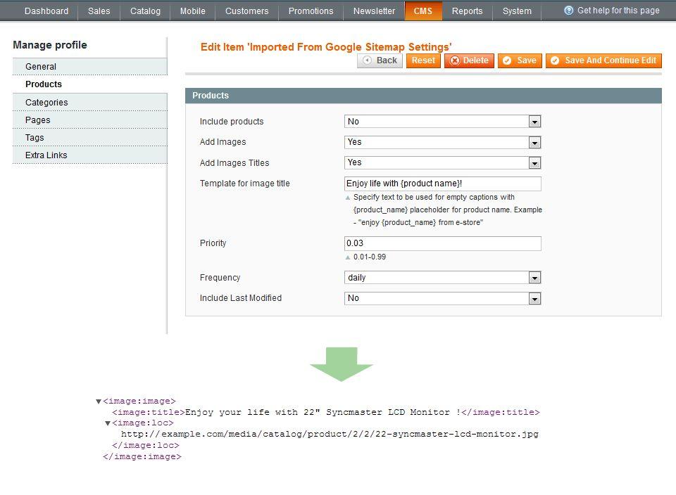 Magento Google XML Sitemap - Create Sitemap in Magento