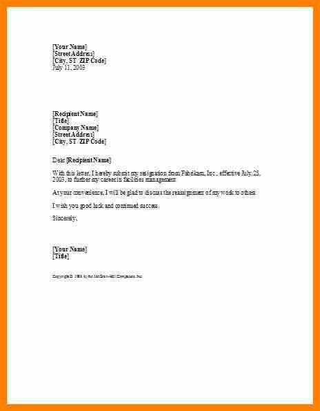 8+ free resignation letter templates | assembly resume
