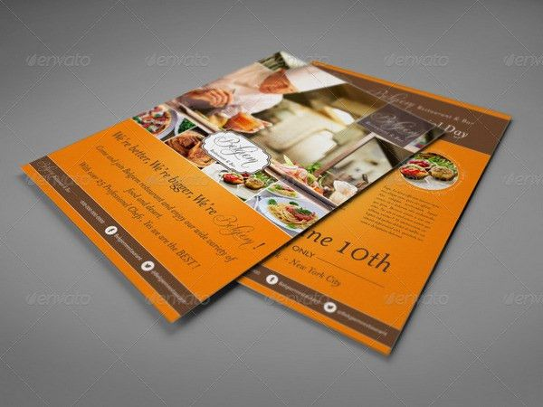 30+ Cafe and Restaurant Flyer Templates