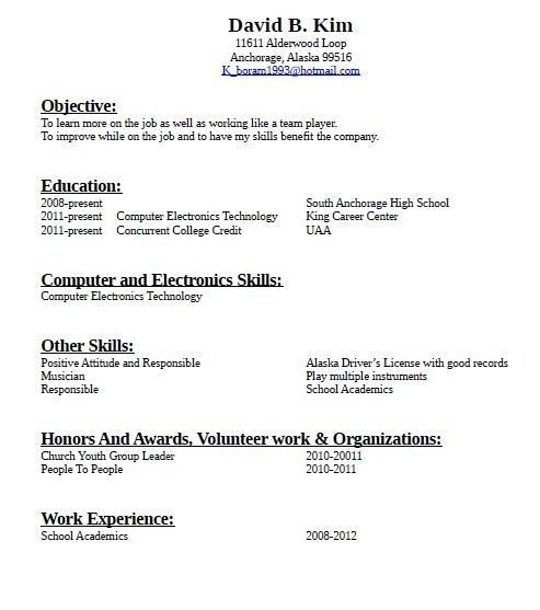 Interesting How To Make A Resume For Job Application Sample ...