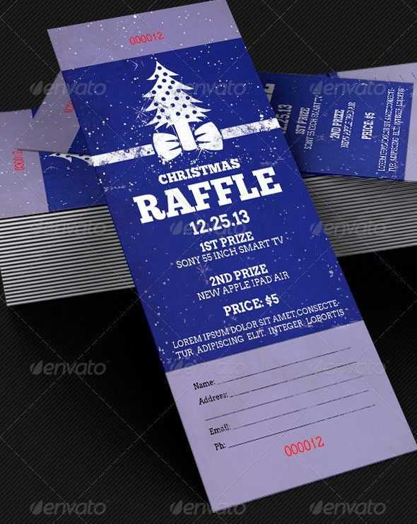 Amazing Ticket Templates for Church and Fundraising Events