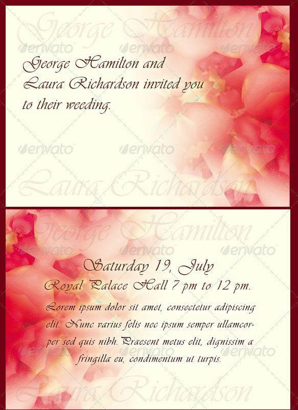 Wedding Invitation Templates - Wedding Invitation Designs ...
