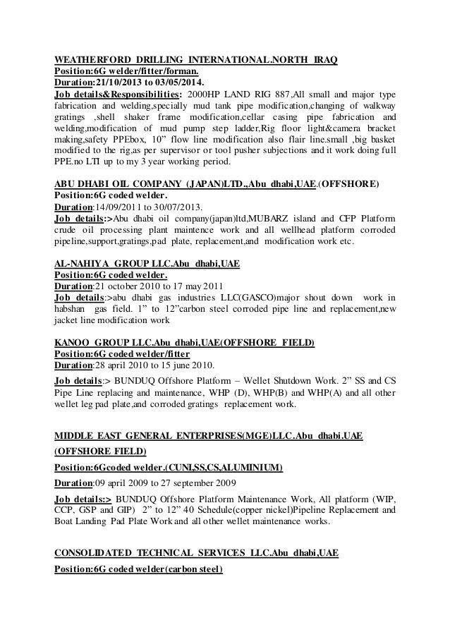 welder resume examples to stand out myperfectresume welder resume