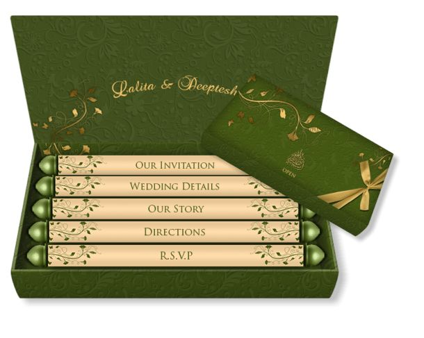 All Box Style Email Wedding Card Templates – Luxury Indian & Asian ...