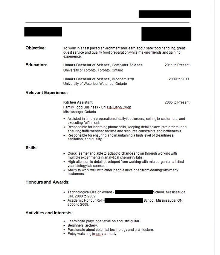 Example Of How To Write A Resume. How To Write A Resume Experience ...