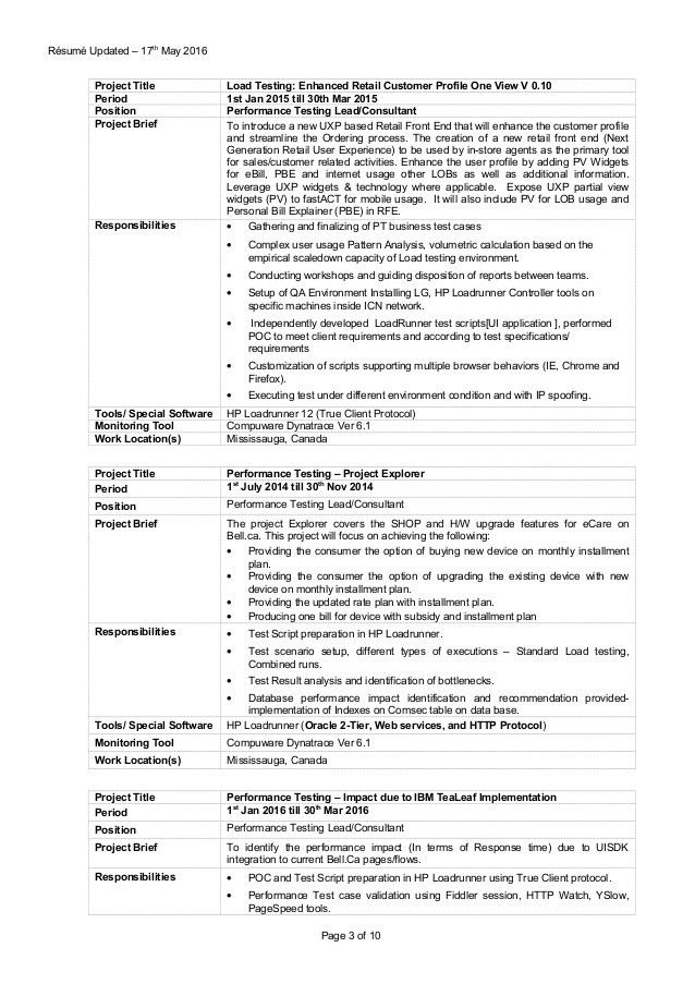Download Performance Test Engineer Sample Resume ...