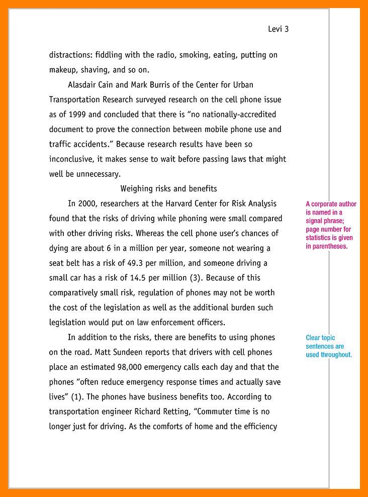 6+ essay mla format example | resumes great