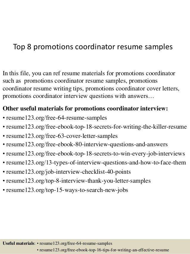 top-8-promotions-coordinator-resume-samples-1-638.jpg?cb=1431193363