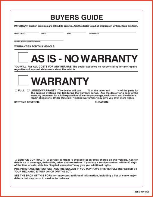 BUYER'S ORDER FORM | Proposalsheet.com